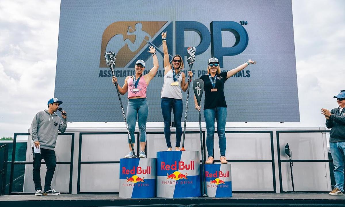 london sup open 2019 women podium