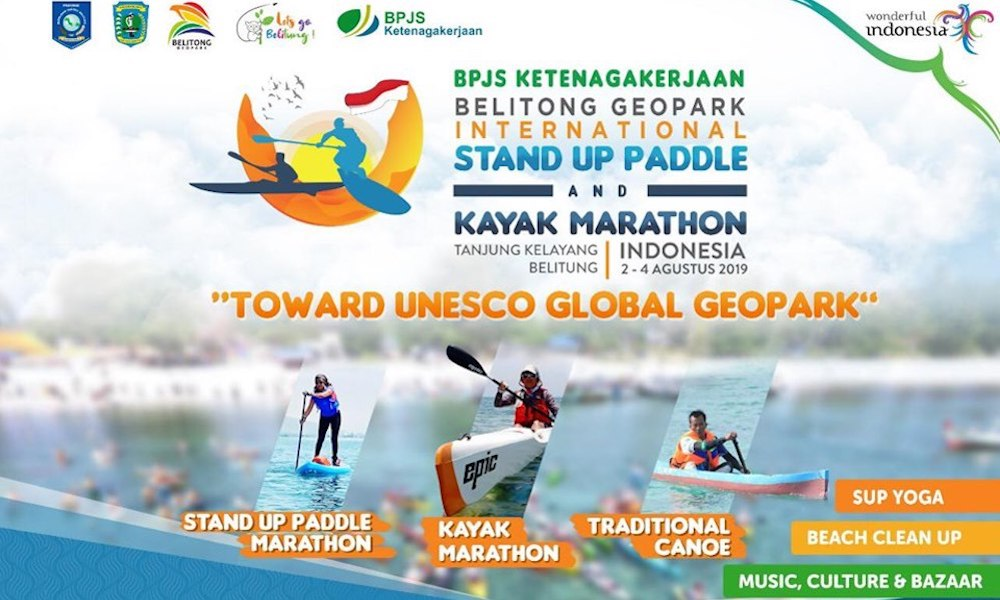 august 2019 events of the month Standup Paddle Kayak Marathon