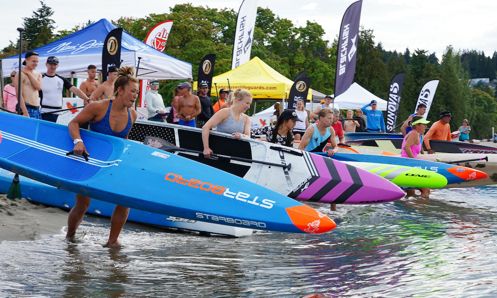 august 2019 events of the month Vancouver SUP Challenge