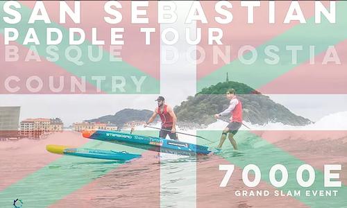 san sebastian paddle tour