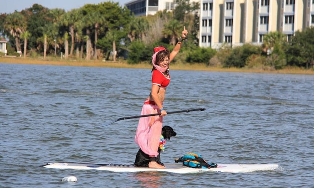 Super Scary SUP Race image 1