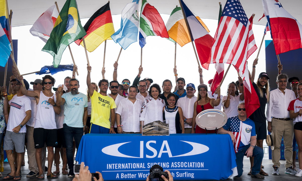 Opening Ceremony ISA Ben Reed 121