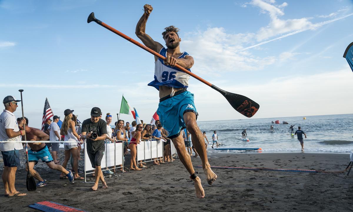 ITA Claudio Nika Sprints ISA Ben Reed 4