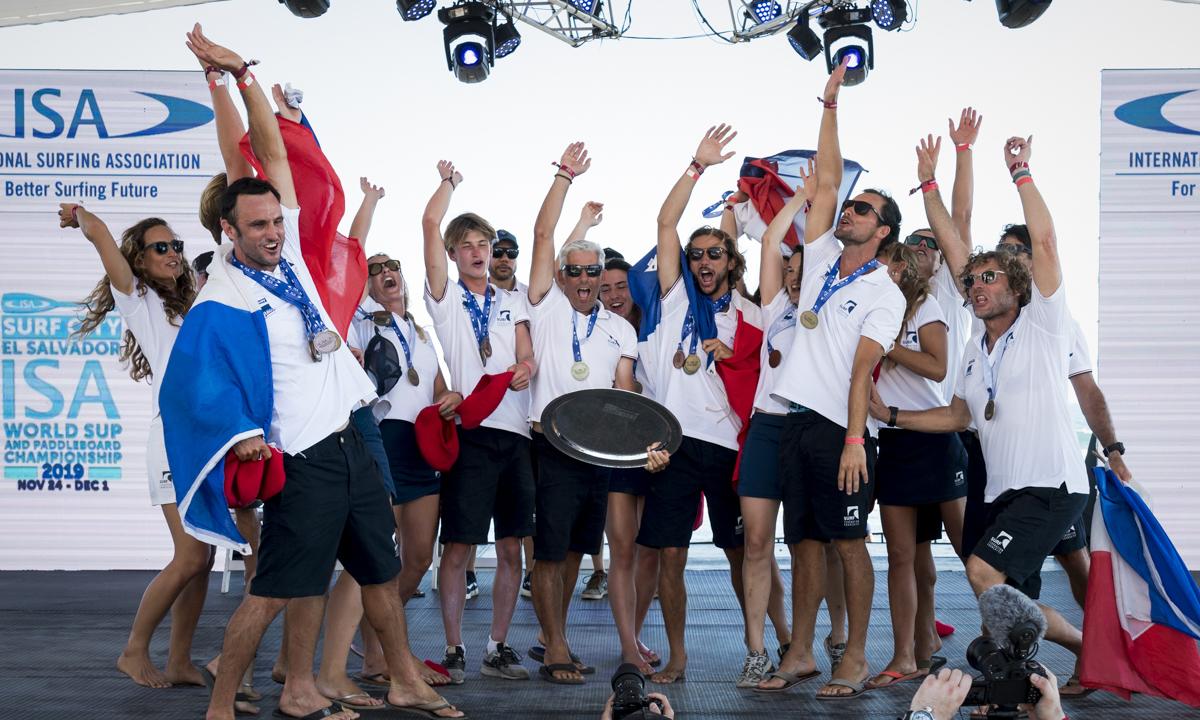 FRA Team Gold Closing Ceremony ISA Ben Reed 2