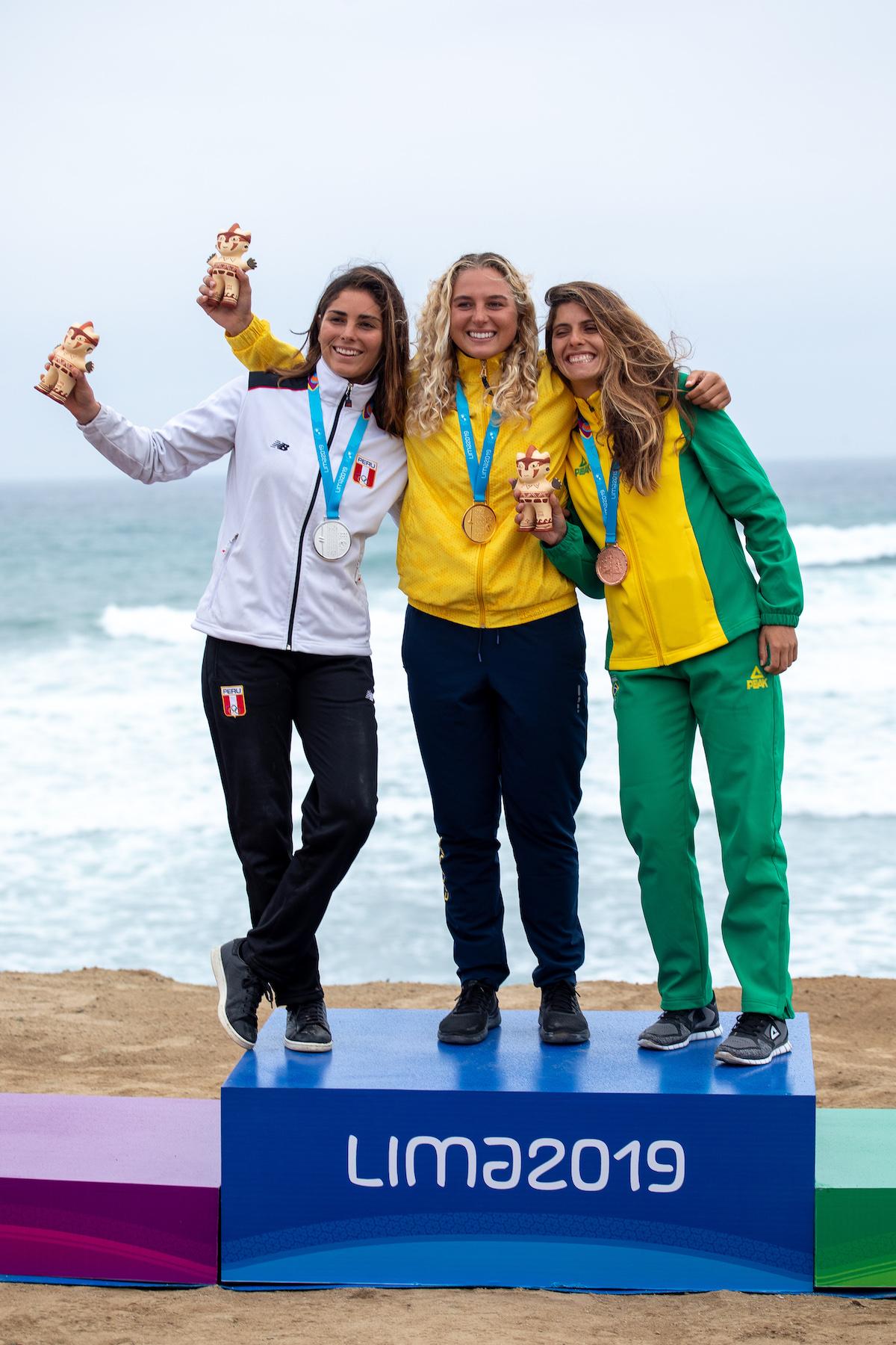 SUP SURF WOMEN PODIUM JIMENEZ