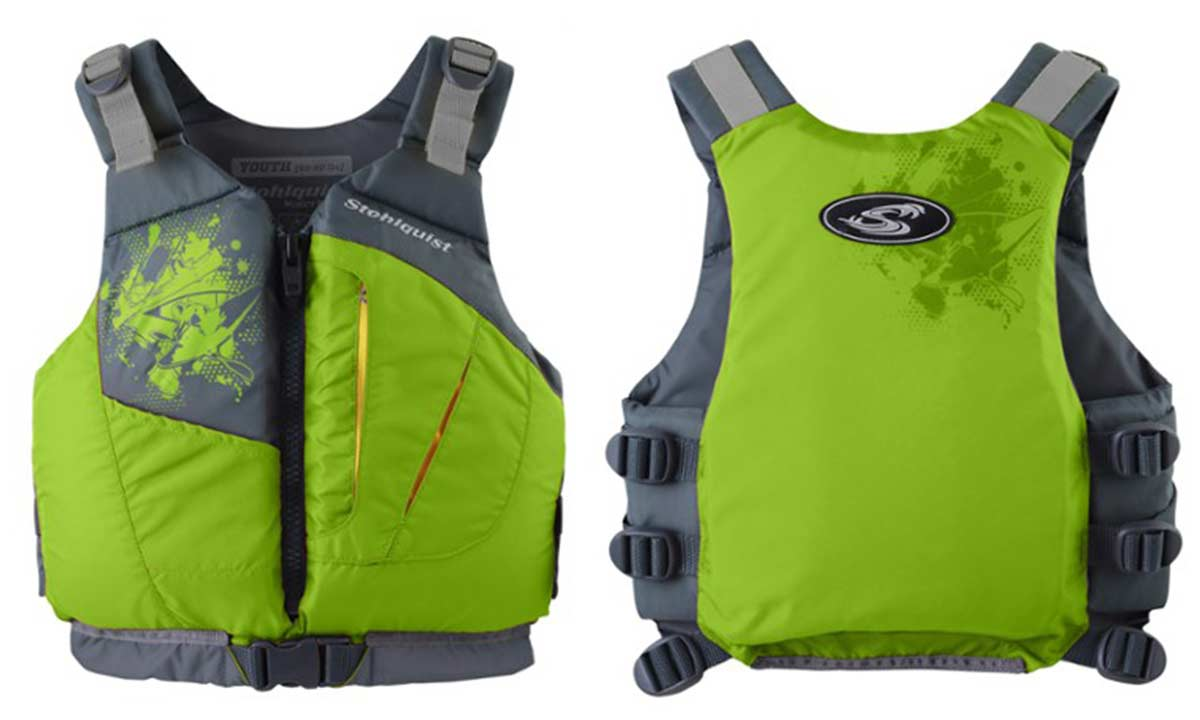 best looking coast guard certified life jacket stohlquist escape youth