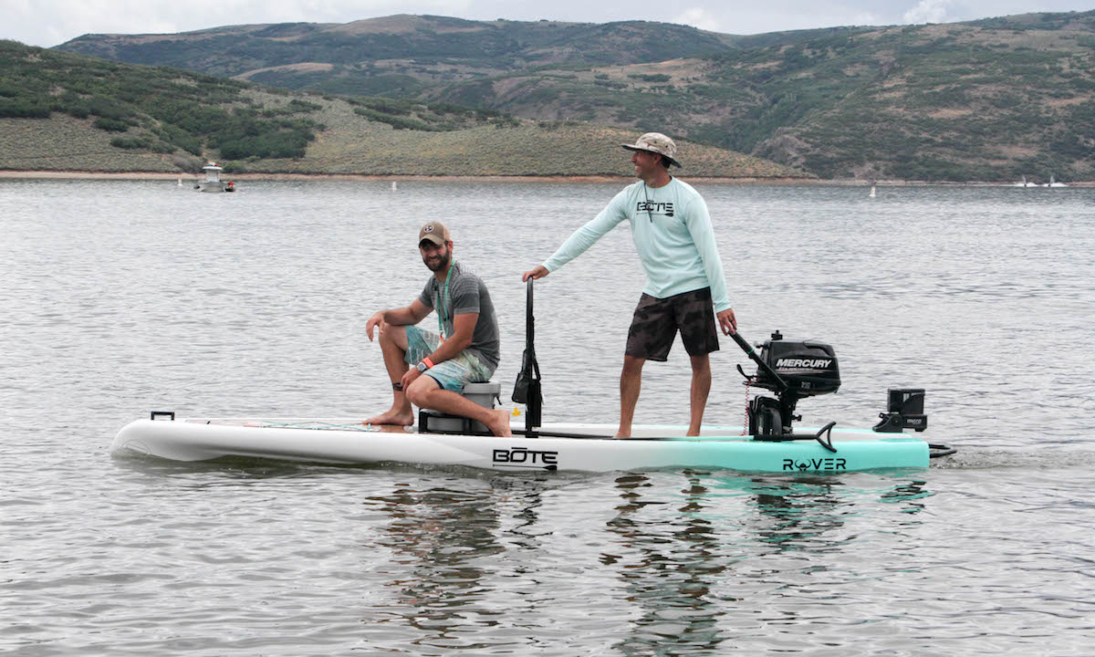 BOTE Rover Fishing Paddle Board Review 2018