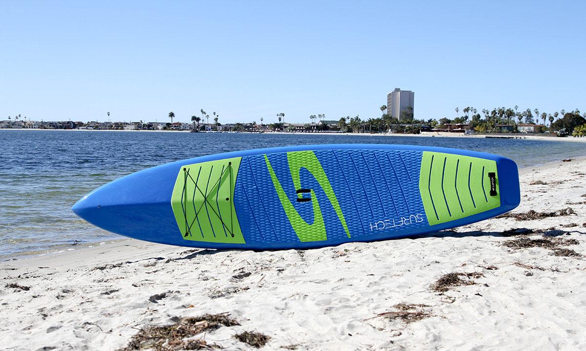 best beginner standup paddle board 2019 surftech promenade 1