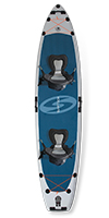 best inflatable standup paddle board 2020 surftech hercules