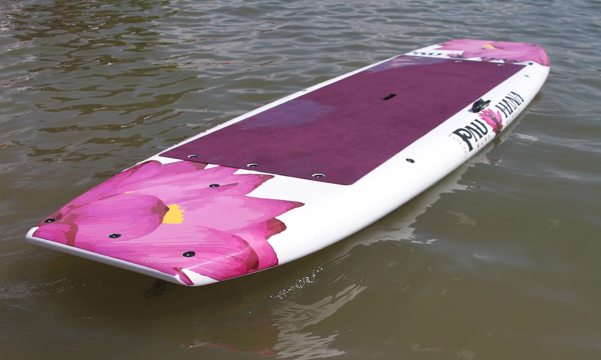 best non inflatable sup pauhana lotus