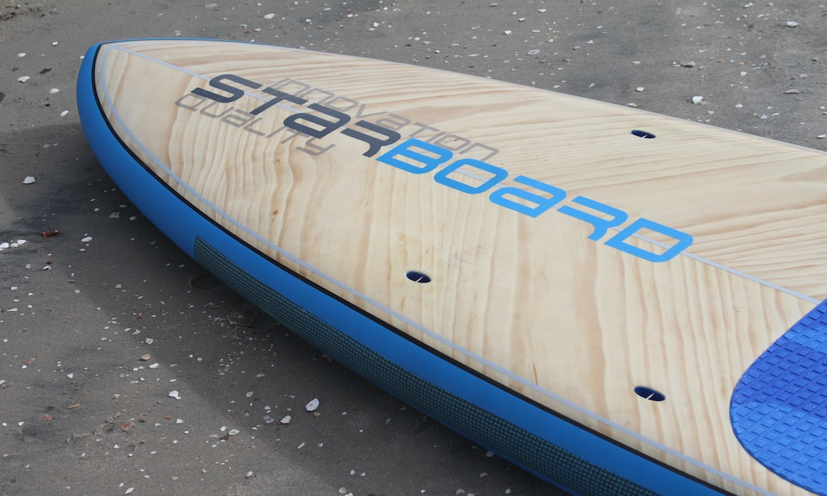 best non inflatable sup starboard freeride