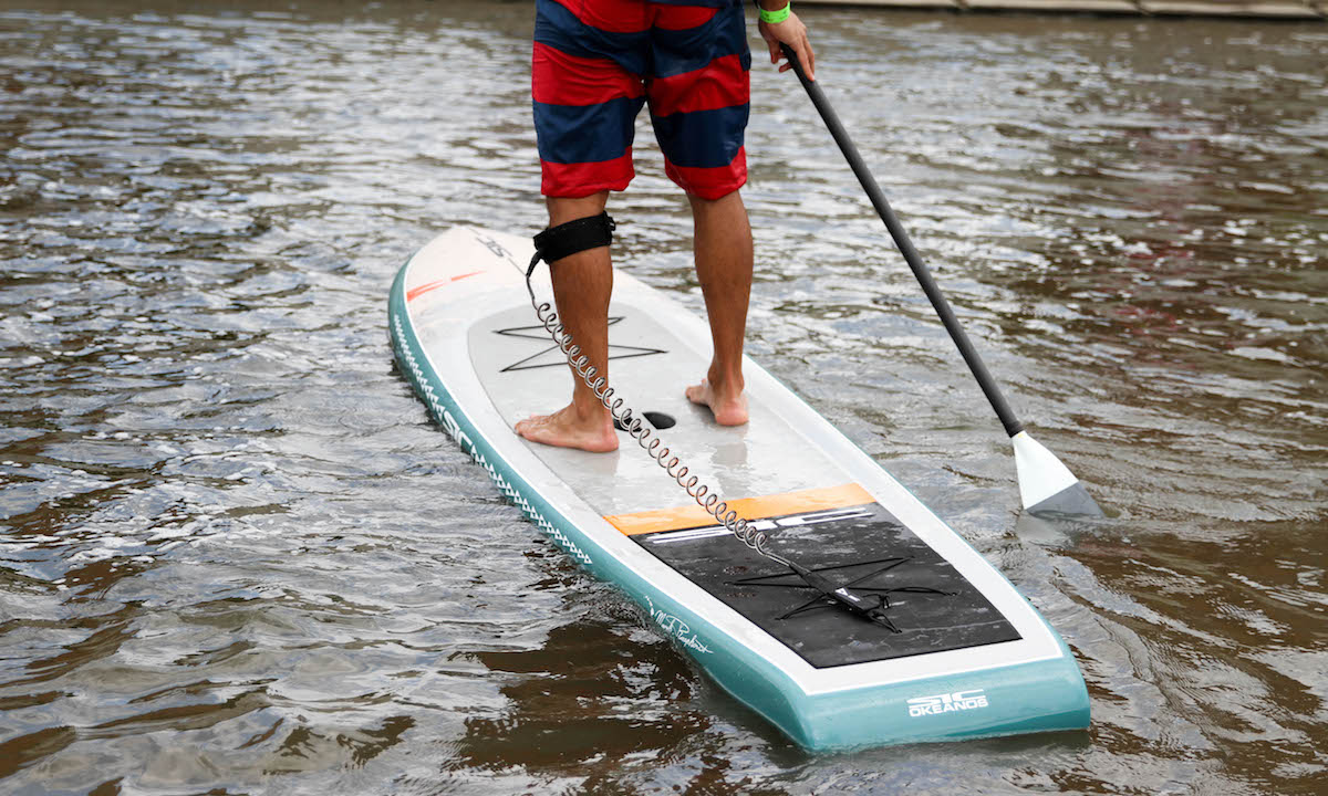 best non inflatable standup paddle board 2019 sic maui okeanos 2