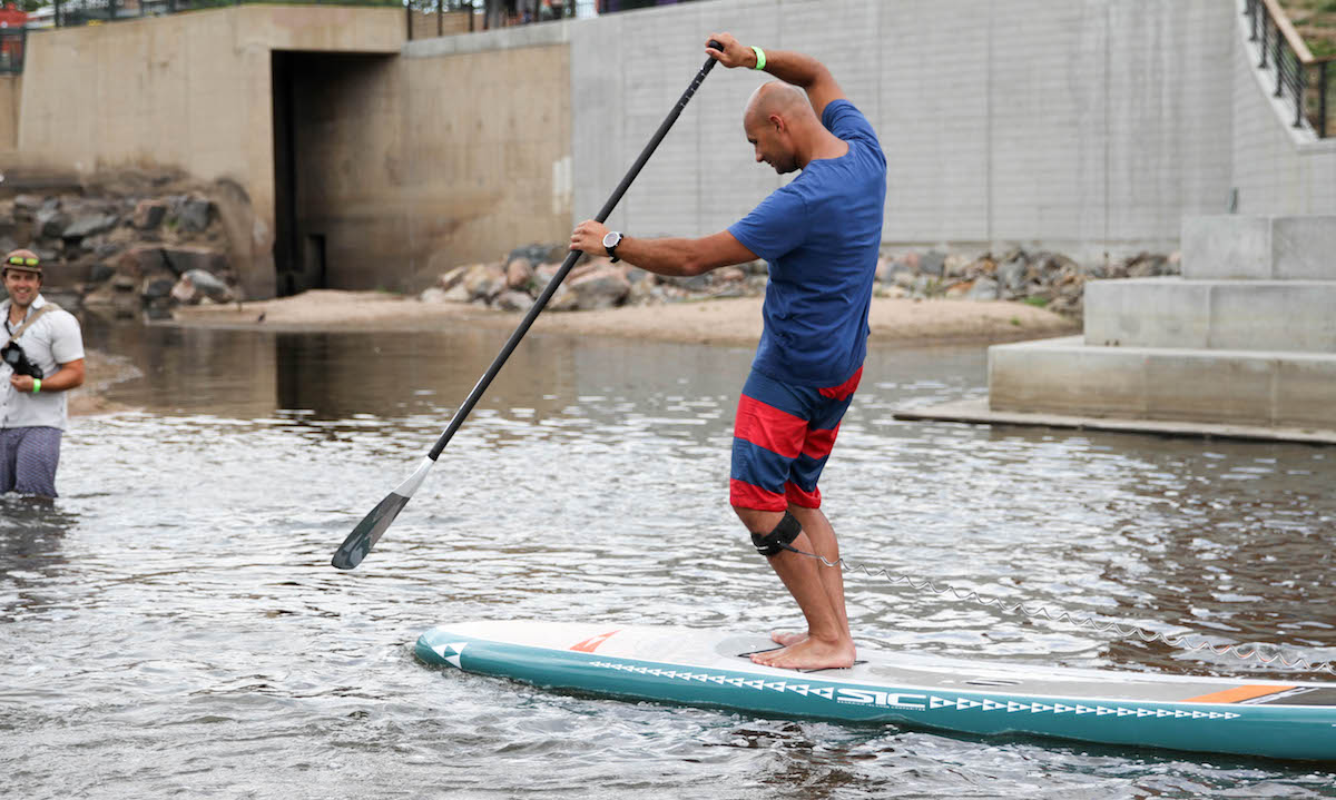 best non inflatable standup paddle board 2019 sic maui okeanos 3