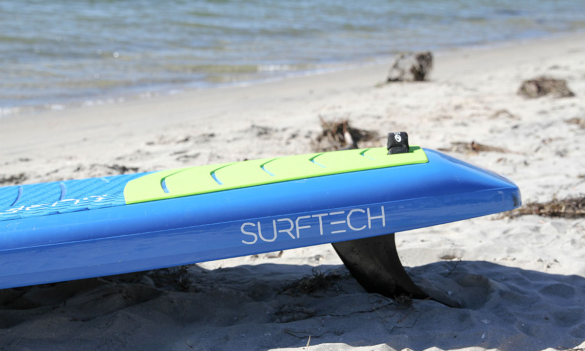 best non inflatable standup paddle board 2019 surftech promenade 2