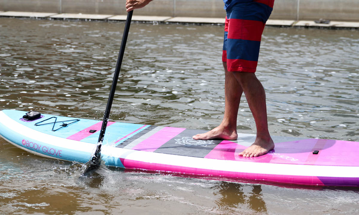 best standup paddle board 2019 body glove oasis 2