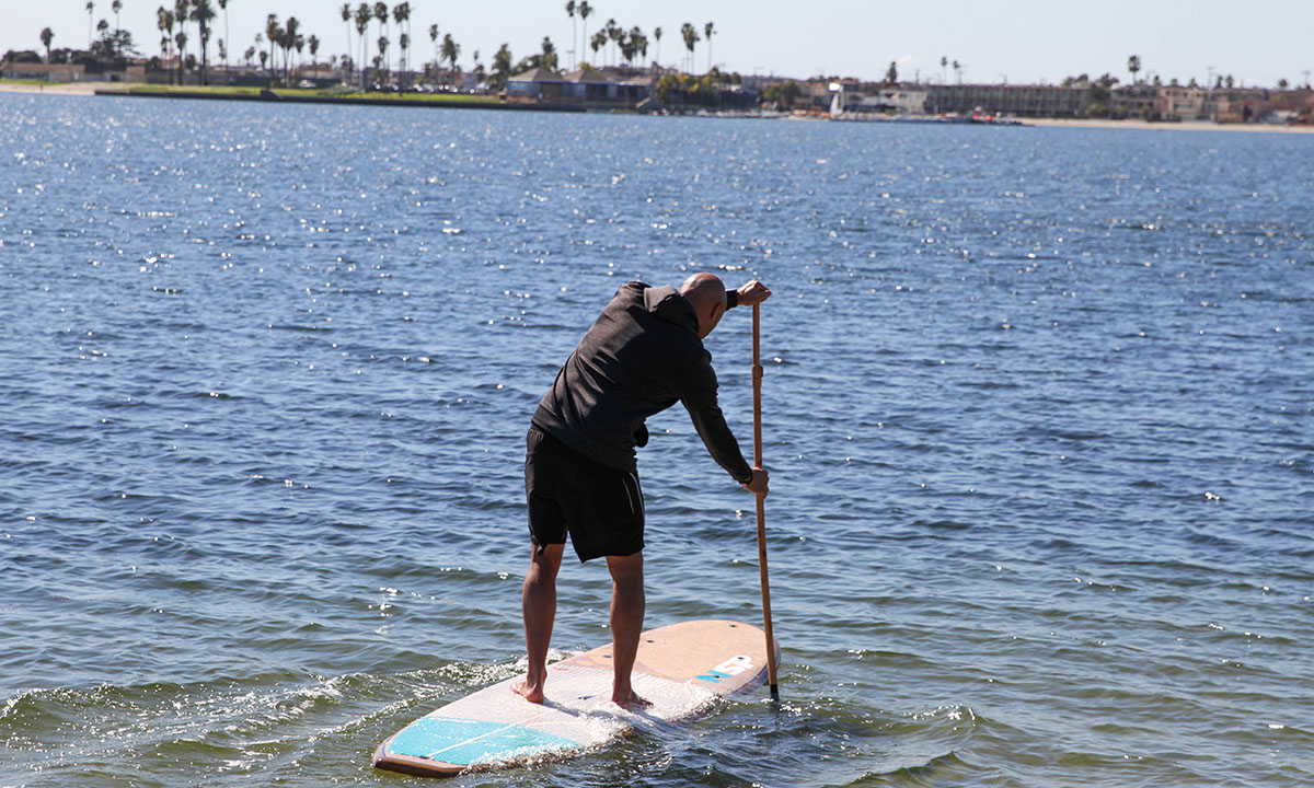 NSP Cocomat Cruise Standup Paddle Board review 2019