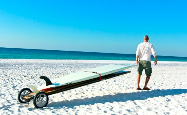 SUP Wheels - SUP Transportation Made Easy