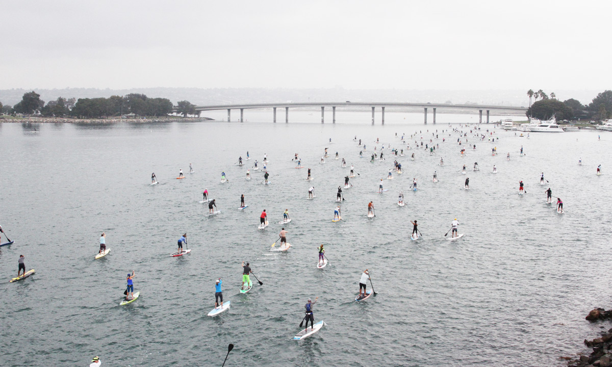 history of sup san diego