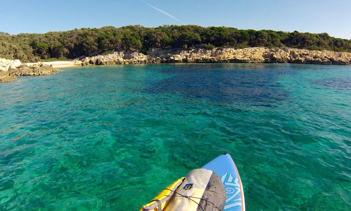sup sail tour croatia islands