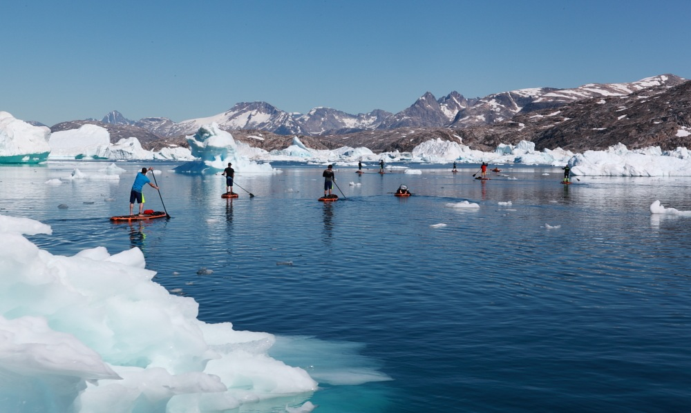 paddle boarding greenland 01