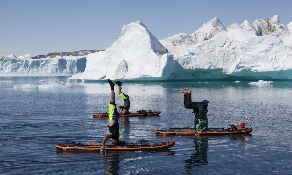 paddle boarding greenland 7