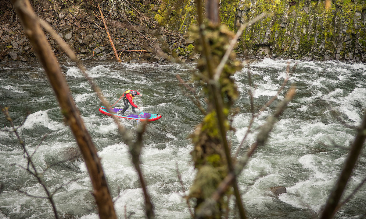 hood river whitewater sup paul clark 5