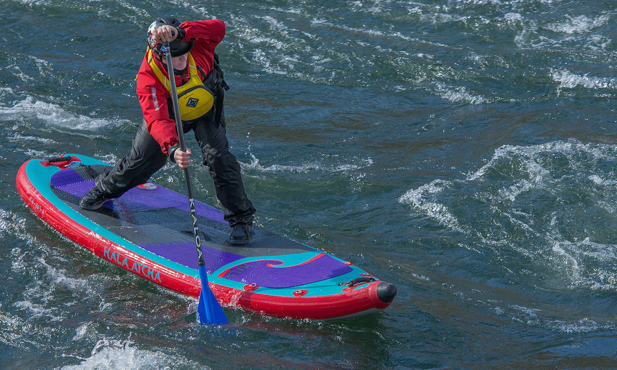 hood river whitewater sup paul clark