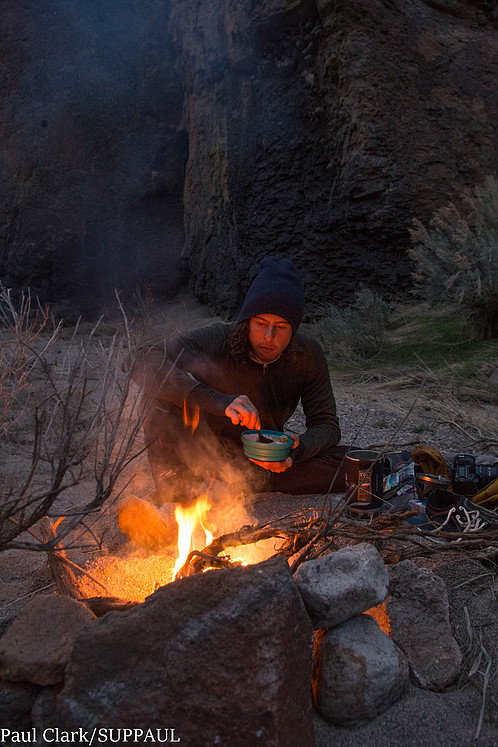 owyhee river expedition 2016 campfire