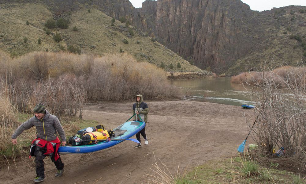 owyhee river sup expedition paul clark gear