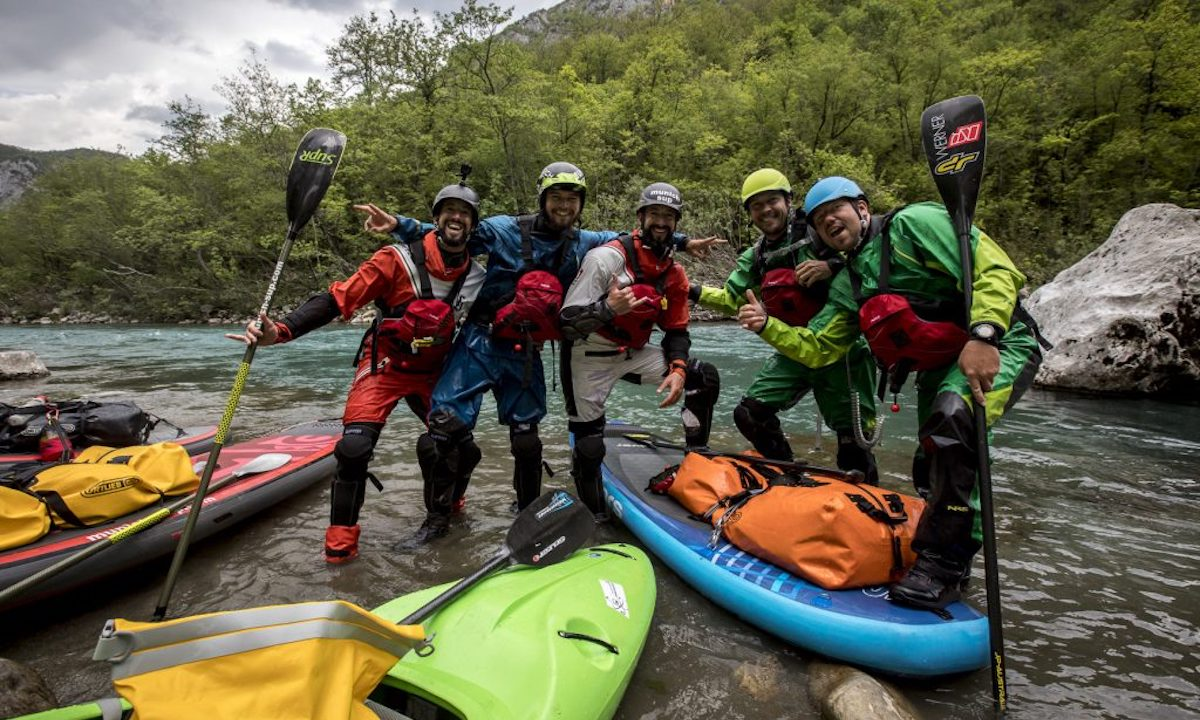 First SUP Descent Of Europe's Deepest Canyon group