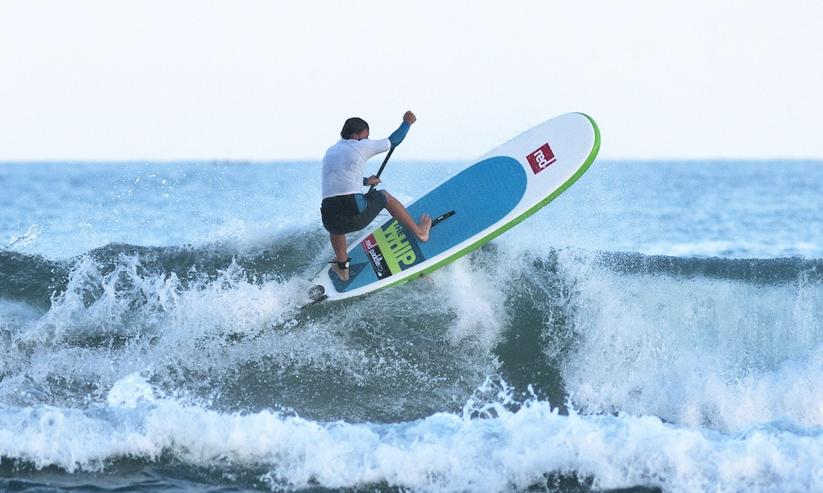 red paddle wins euro supa surf title 2
