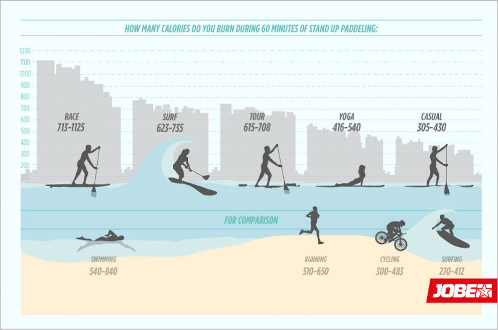 jobe 5 reasons sup fitness infographic