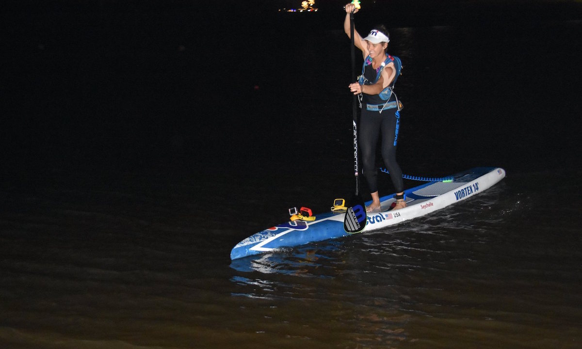 seychelle world record 24 hour paddle