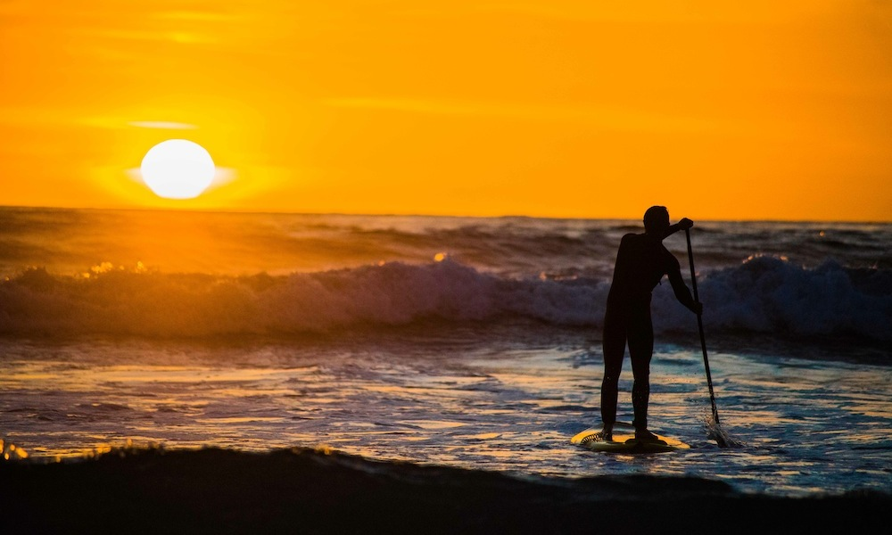 sam aiken photos sunset paddle