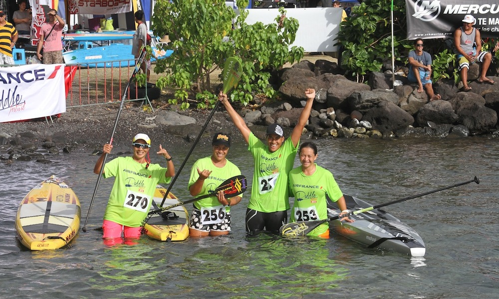 air france paddle festival 2015 500m women