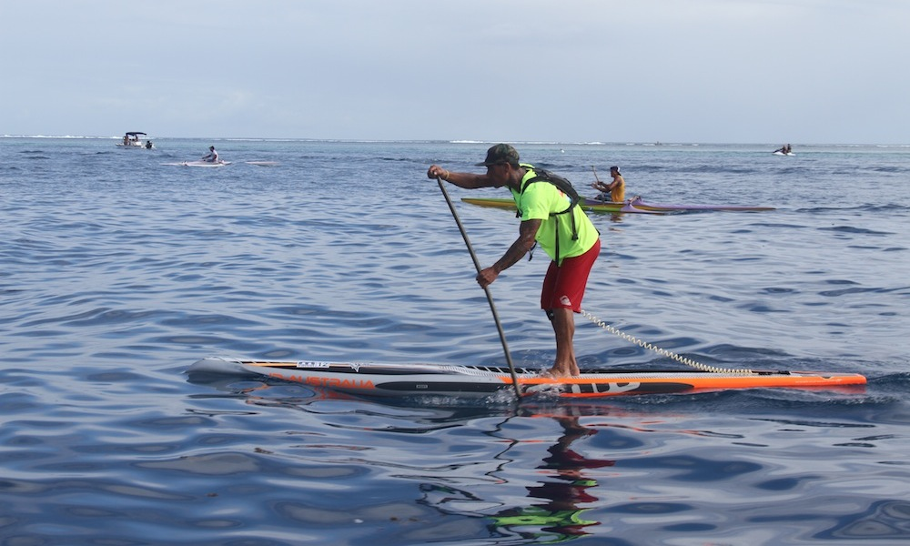 air france paddle festival 2015 lagoon bruno tauhina