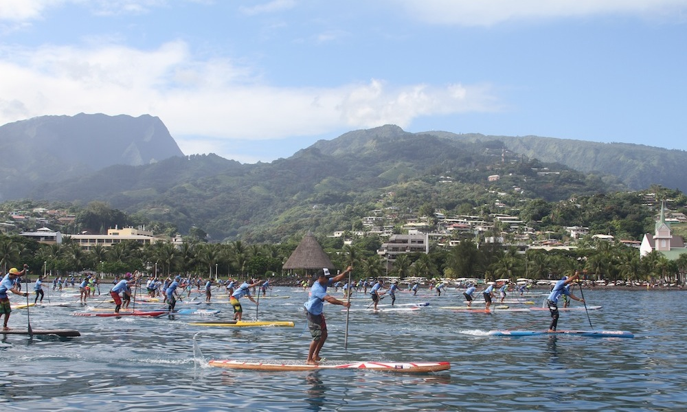 air france paddle festival 2015 lagoon race