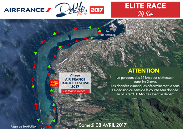 air france paddle fest 2017 elite