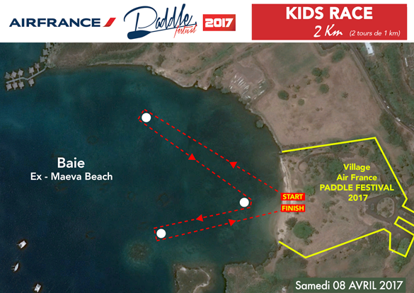 air france paddle fest 2017 kid