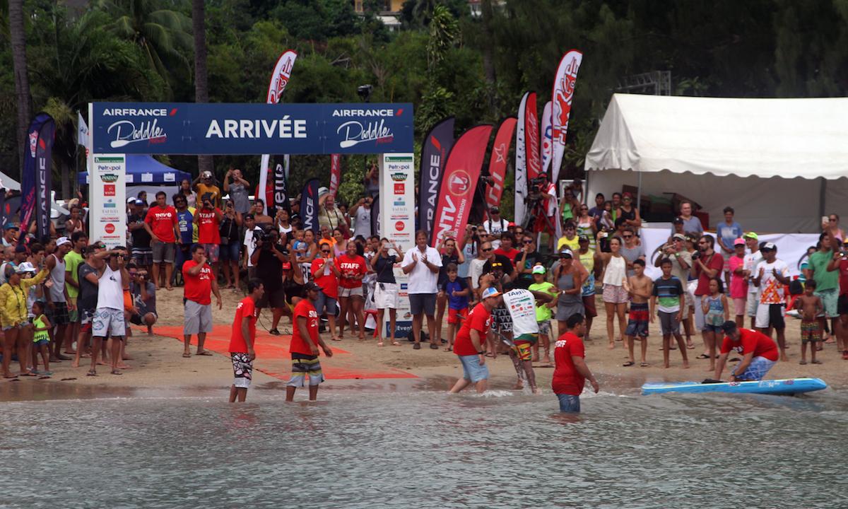 air france paddle festival 2017 elite finish