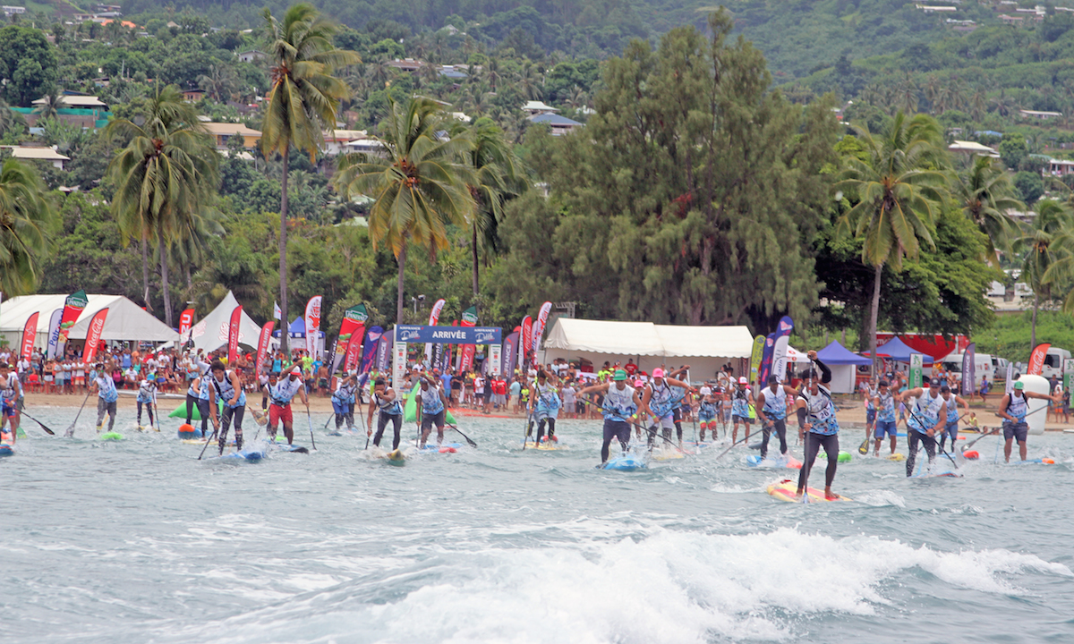 air france paddle festival 2017 elite start 1
