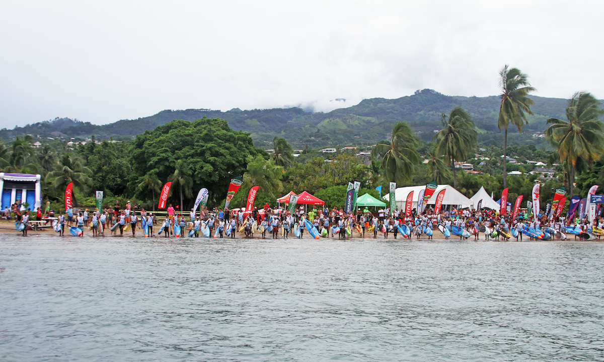air france paddle festival 2017 elite start