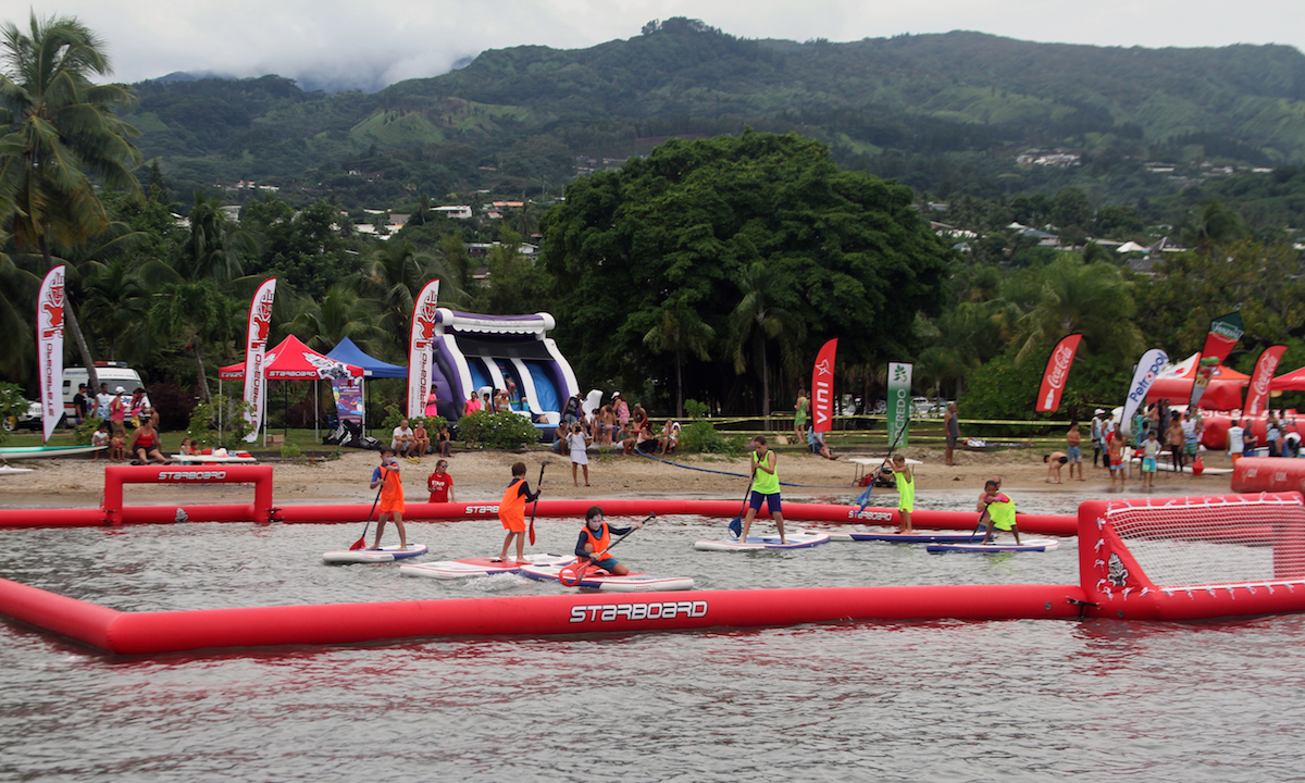 air france paddle festival 2017 sup polo