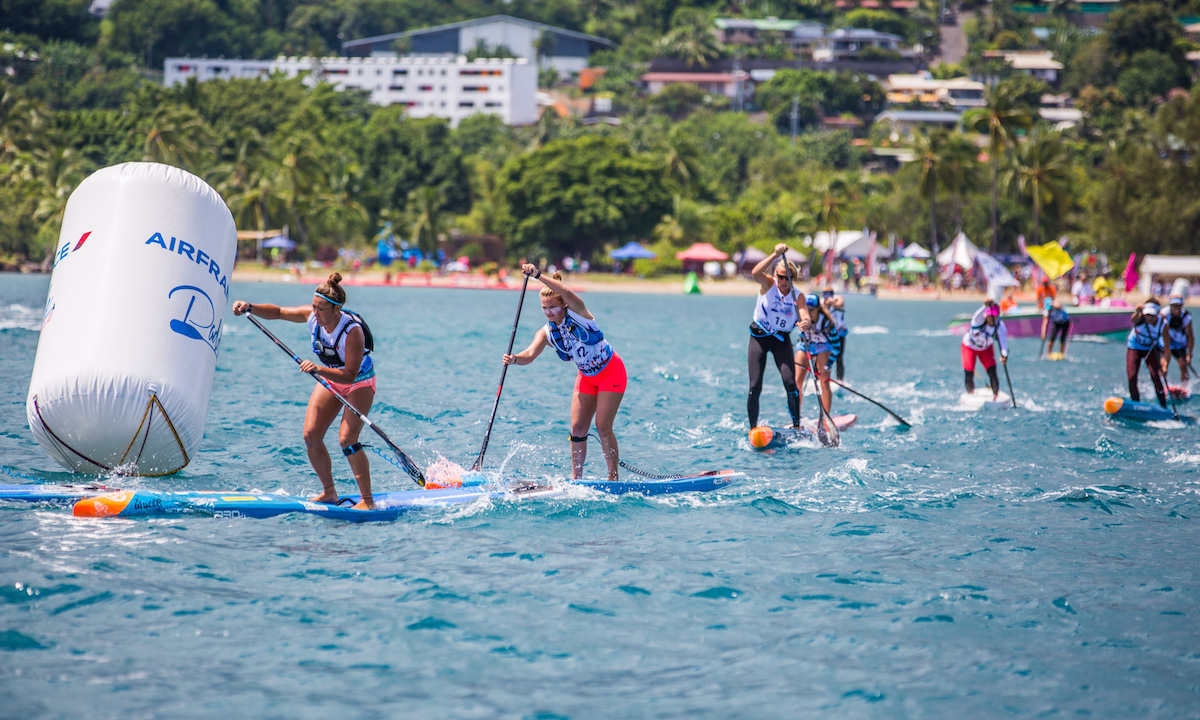 marcus hansen and sonni honscheid victorious at air france paddle festival 2