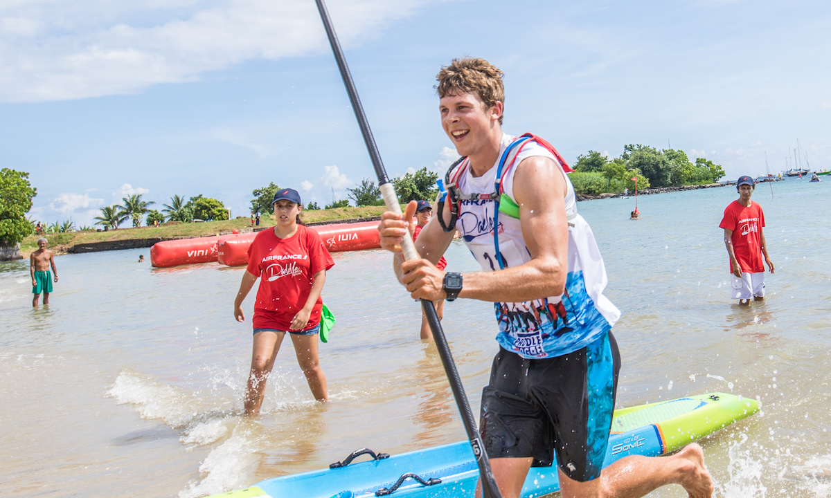 marcus hansen and sonni honscheid victorious at air france paddle festival 8