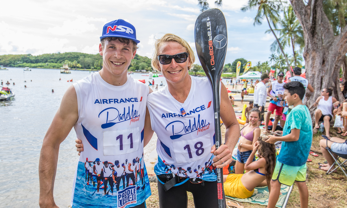 marcus hansen and sonni honscheid victorious at air france paddle festival