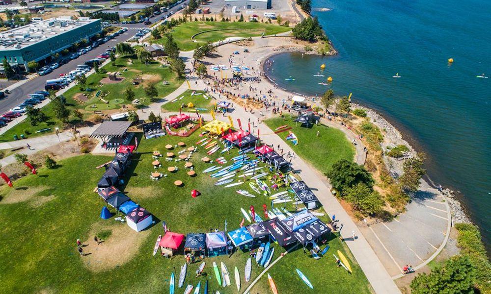 gorge paddle challenge 2018 georgia schofield photo