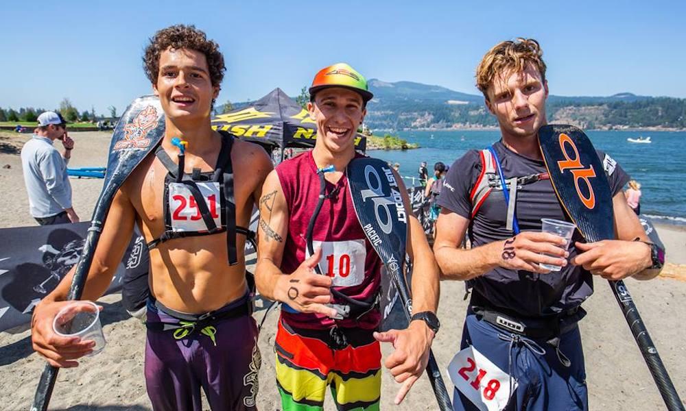 gorge paddle challenge 2018 men downwind georgia schofield photo