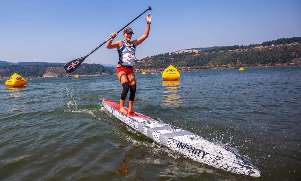 gorge paddle challenge 2018 shae foudy georgia schofield photo