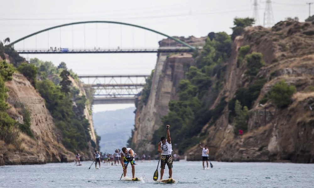 corinth canal sup crossing 1